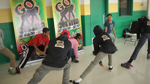 Go Gorilla Youth Fitness Program