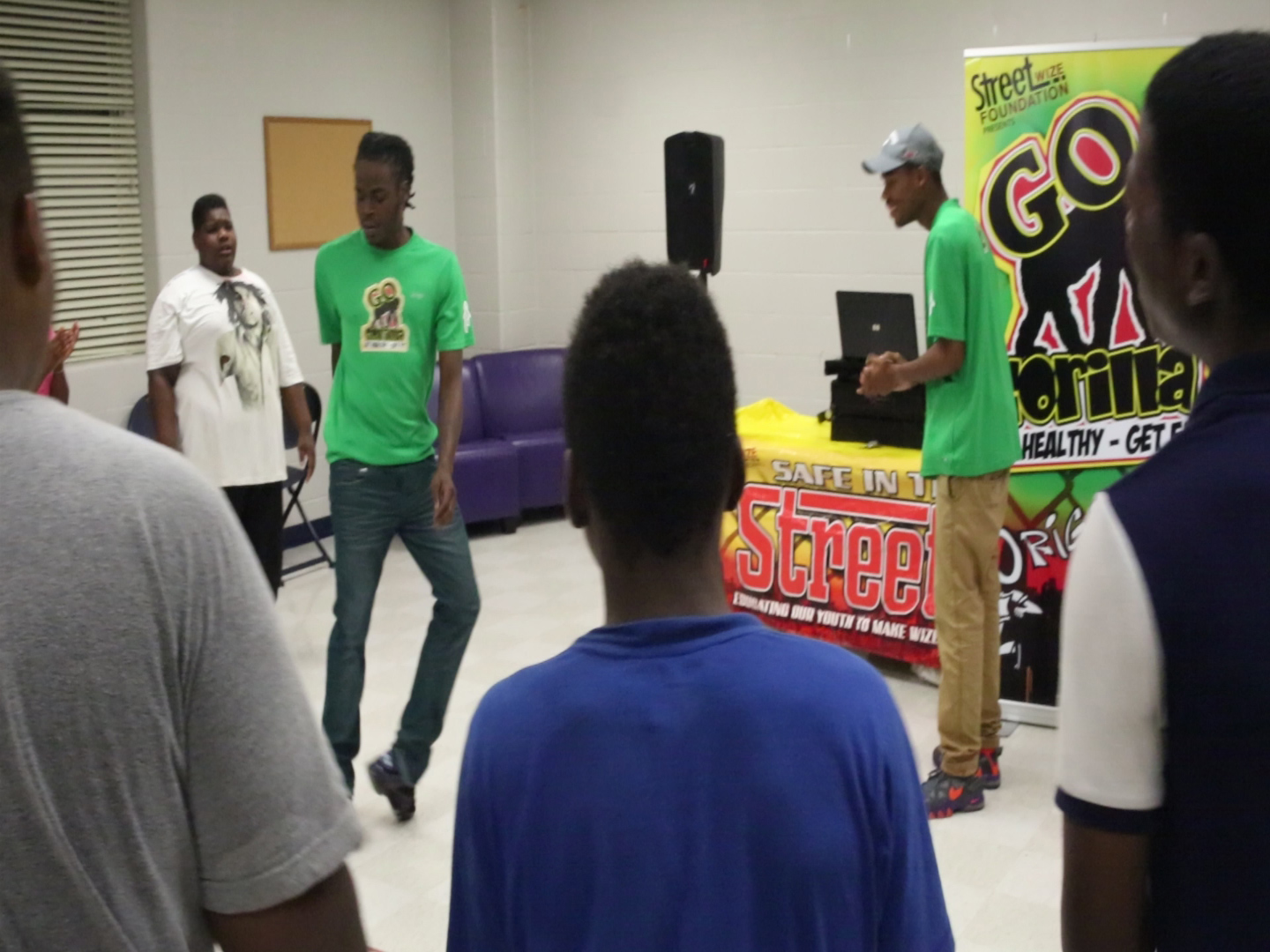 Go Gorilla Youth Teen Fitness Program