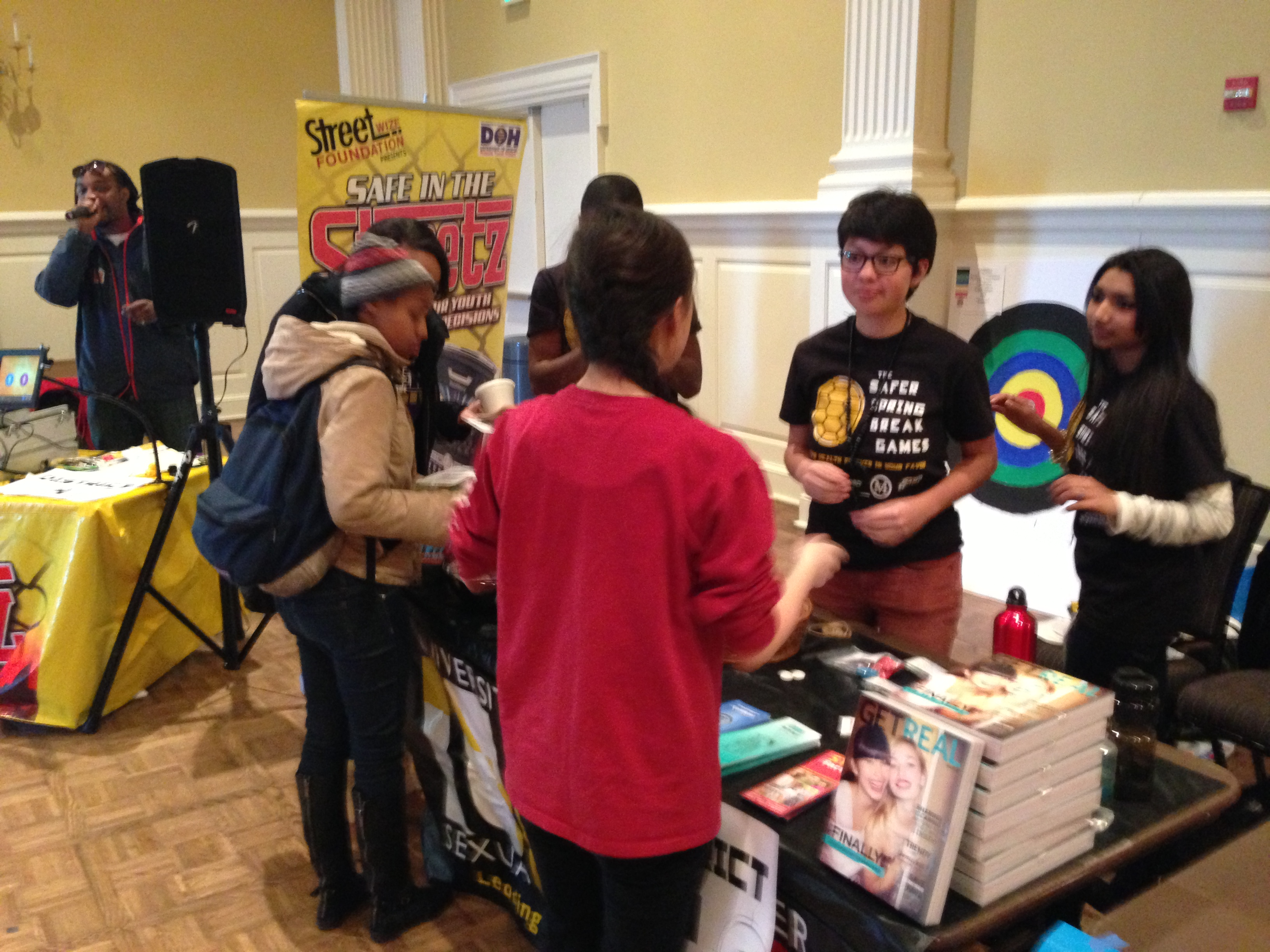 UMD Spring Break Games Student Health Fair is Safe in the Streetz