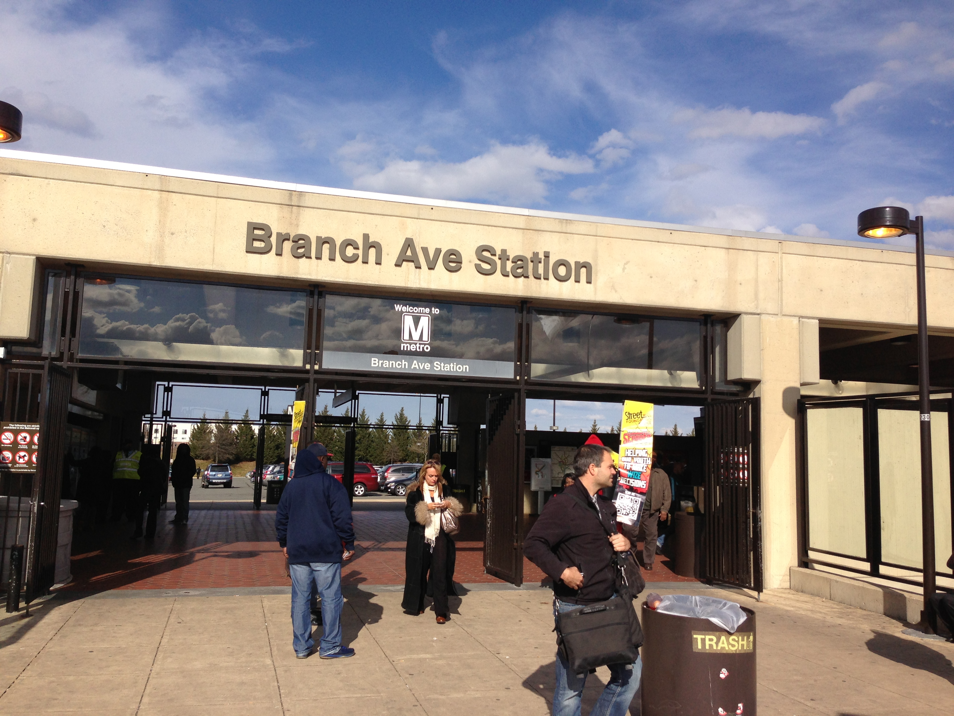 Branch Avenue Metro Station is Safe in the Streetz for the Spring!!