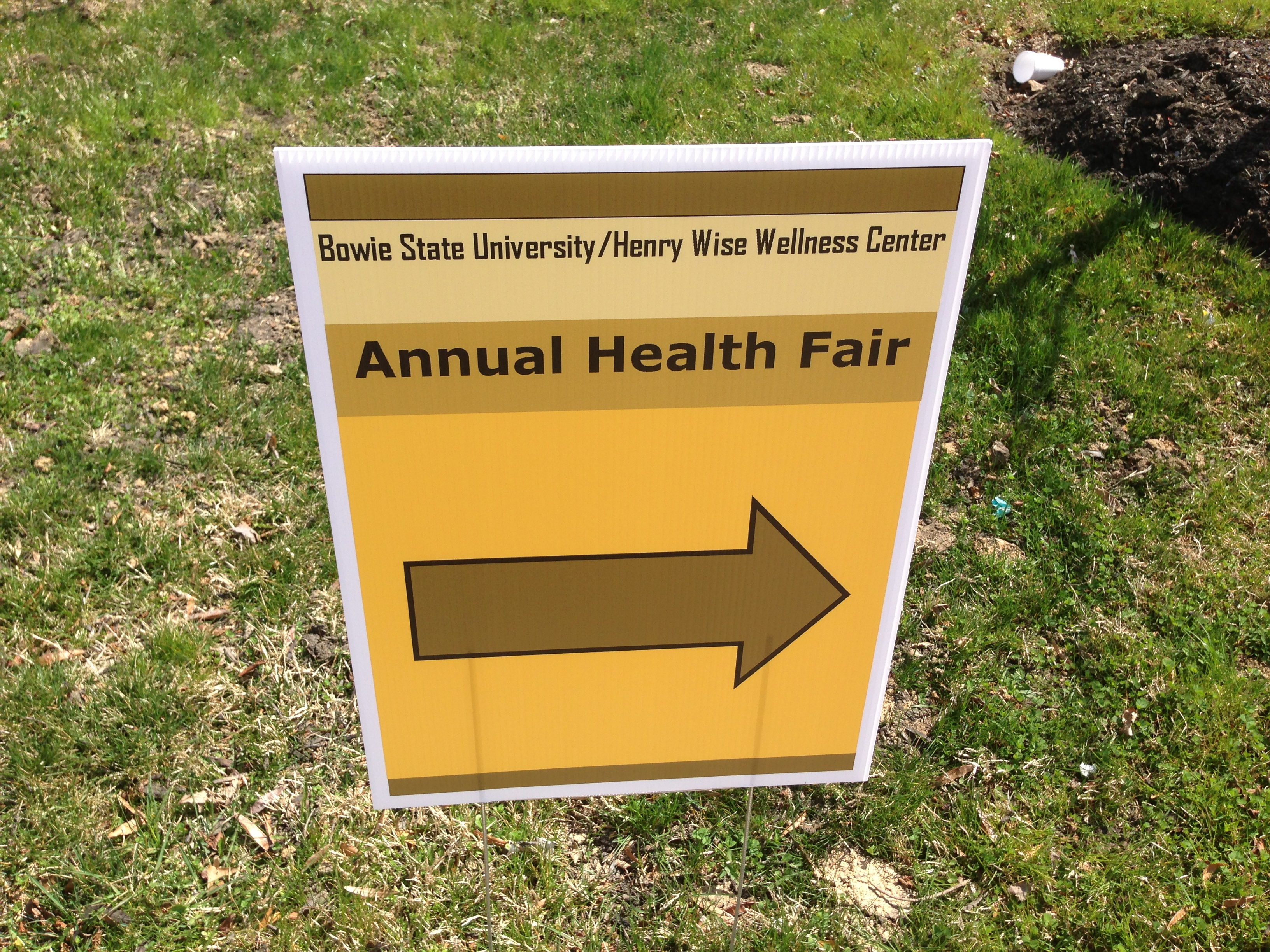 Bowie State University Student Health Fair is Safe in the Streetz