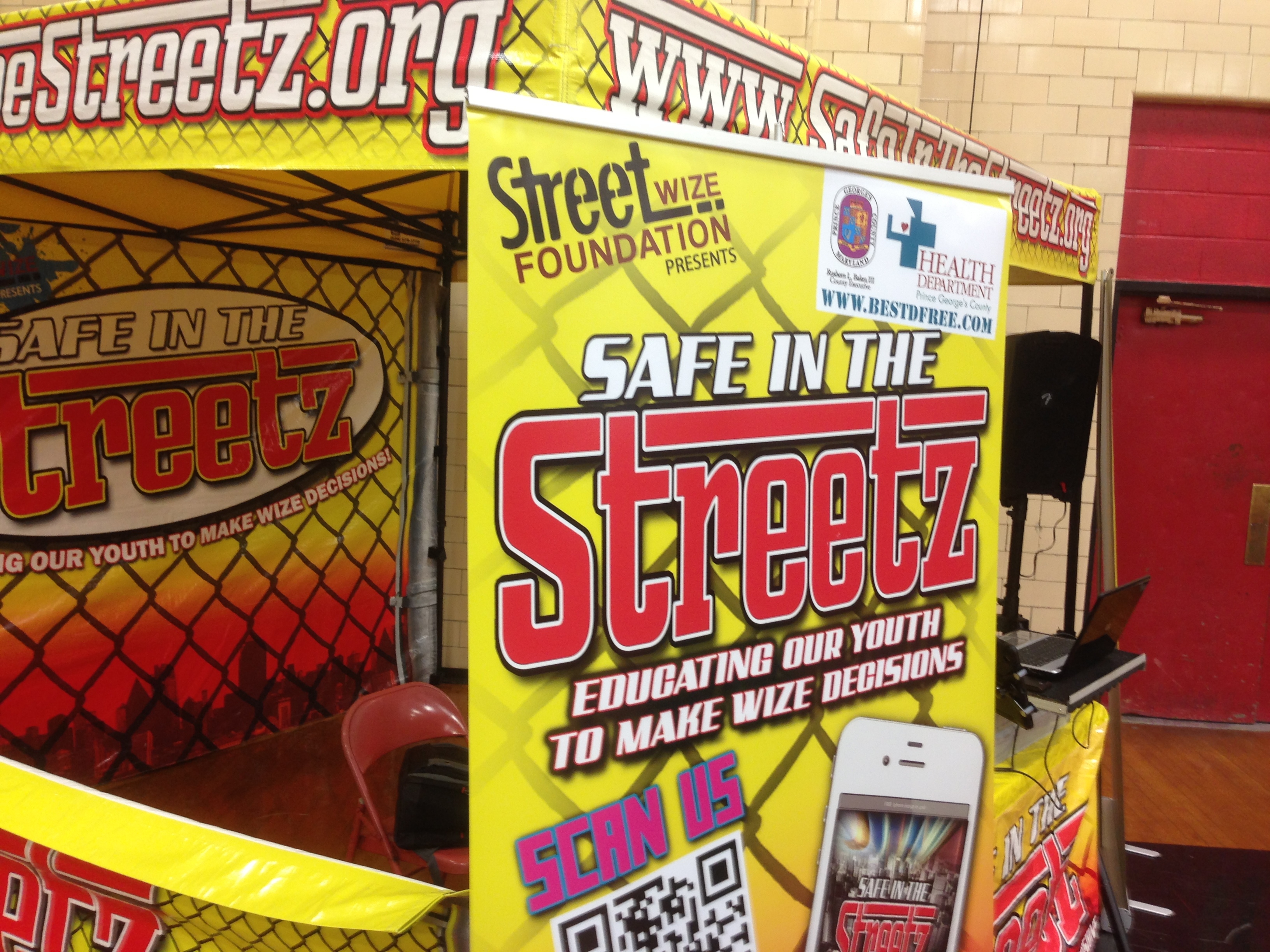 Silence the Violence Charity Basket Ball Game is Safe in the Streetz