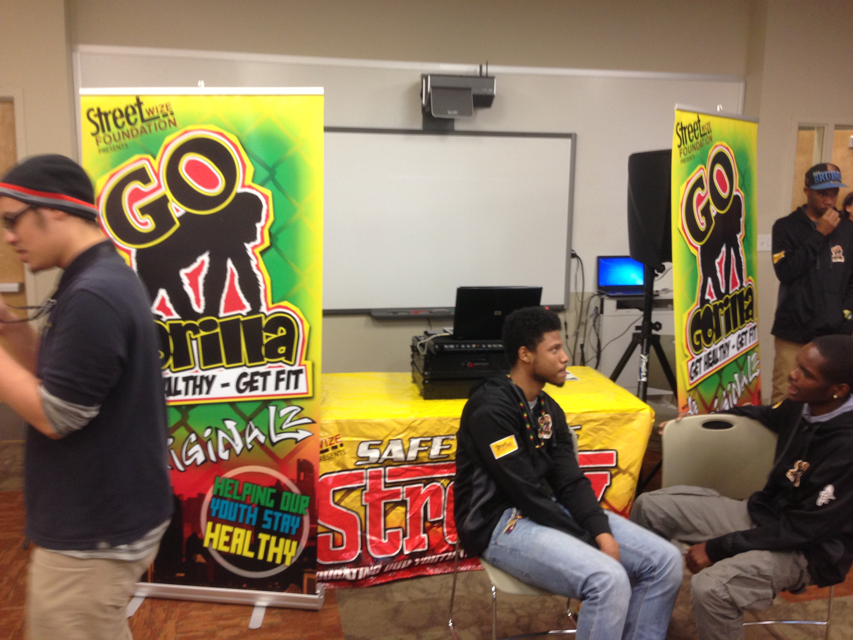 The Youth Prevention Health Fair Goes Gorilla for Youth Fitness!!