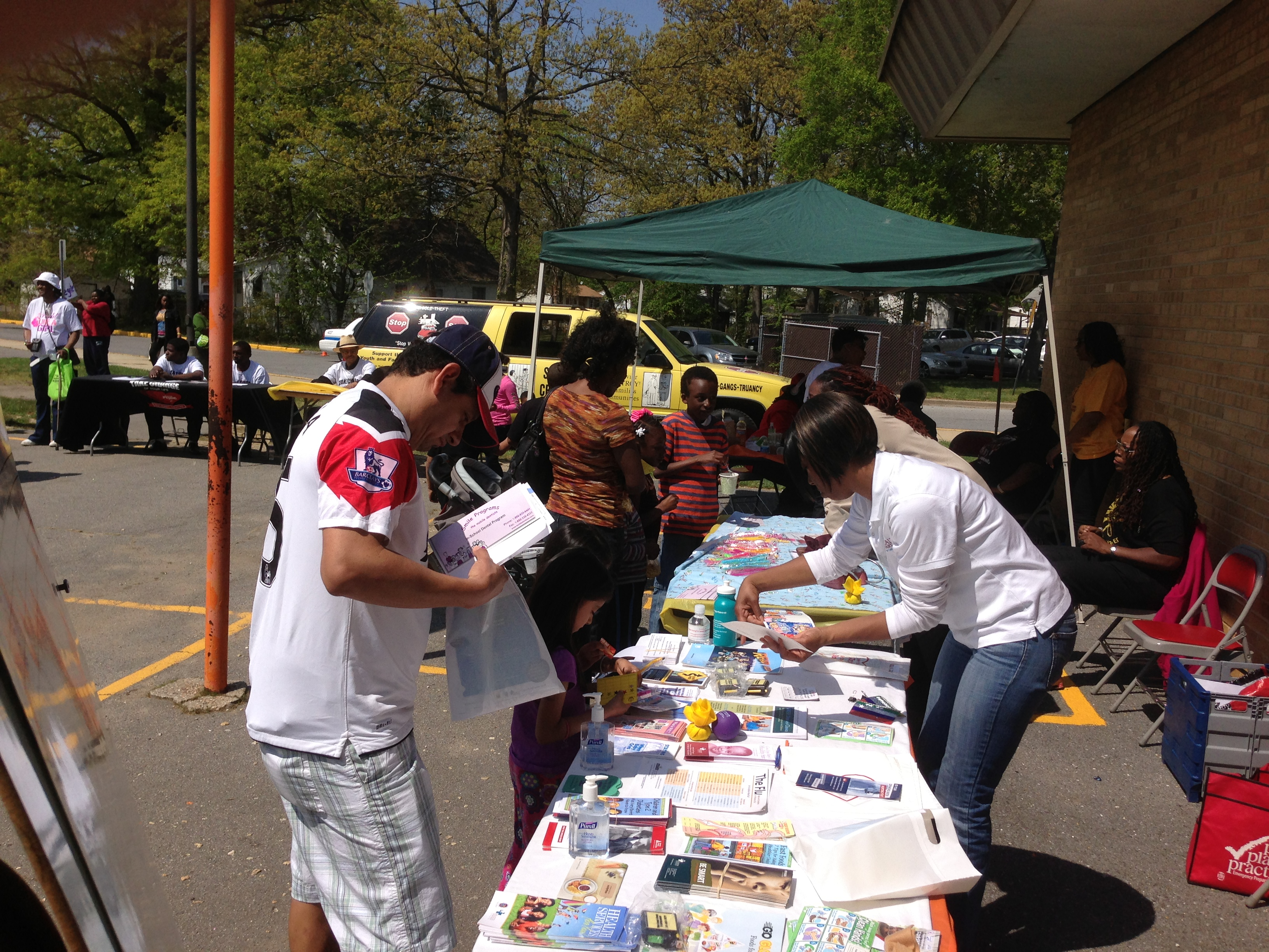 The Forestville Community Health Fair is Safe in the Streetz!!
