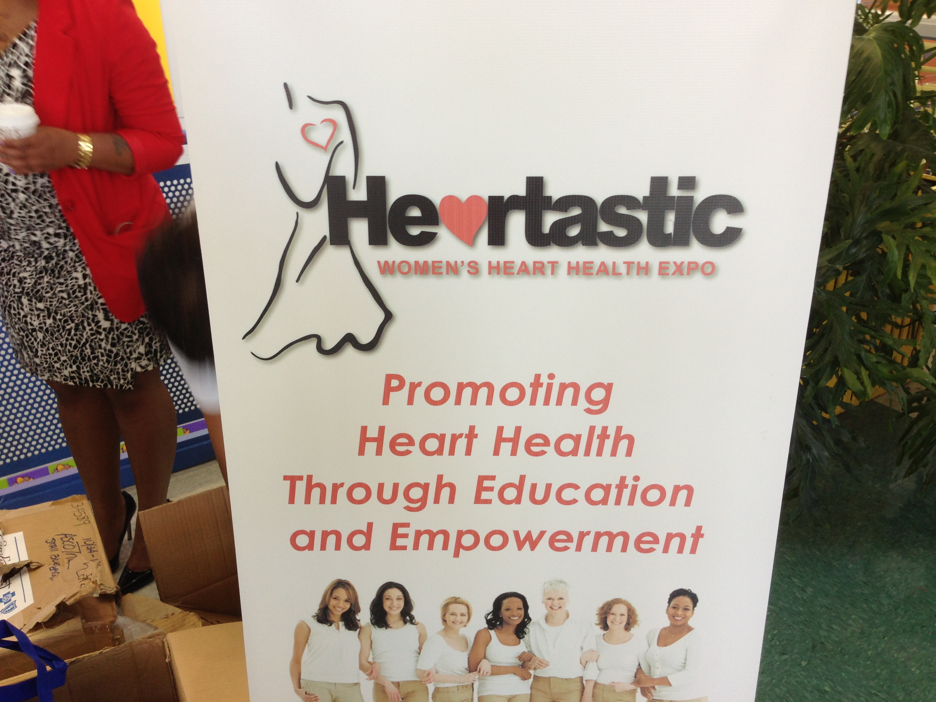 The Heartastic Women's Health Fair Event is Safe in the Streetz!!