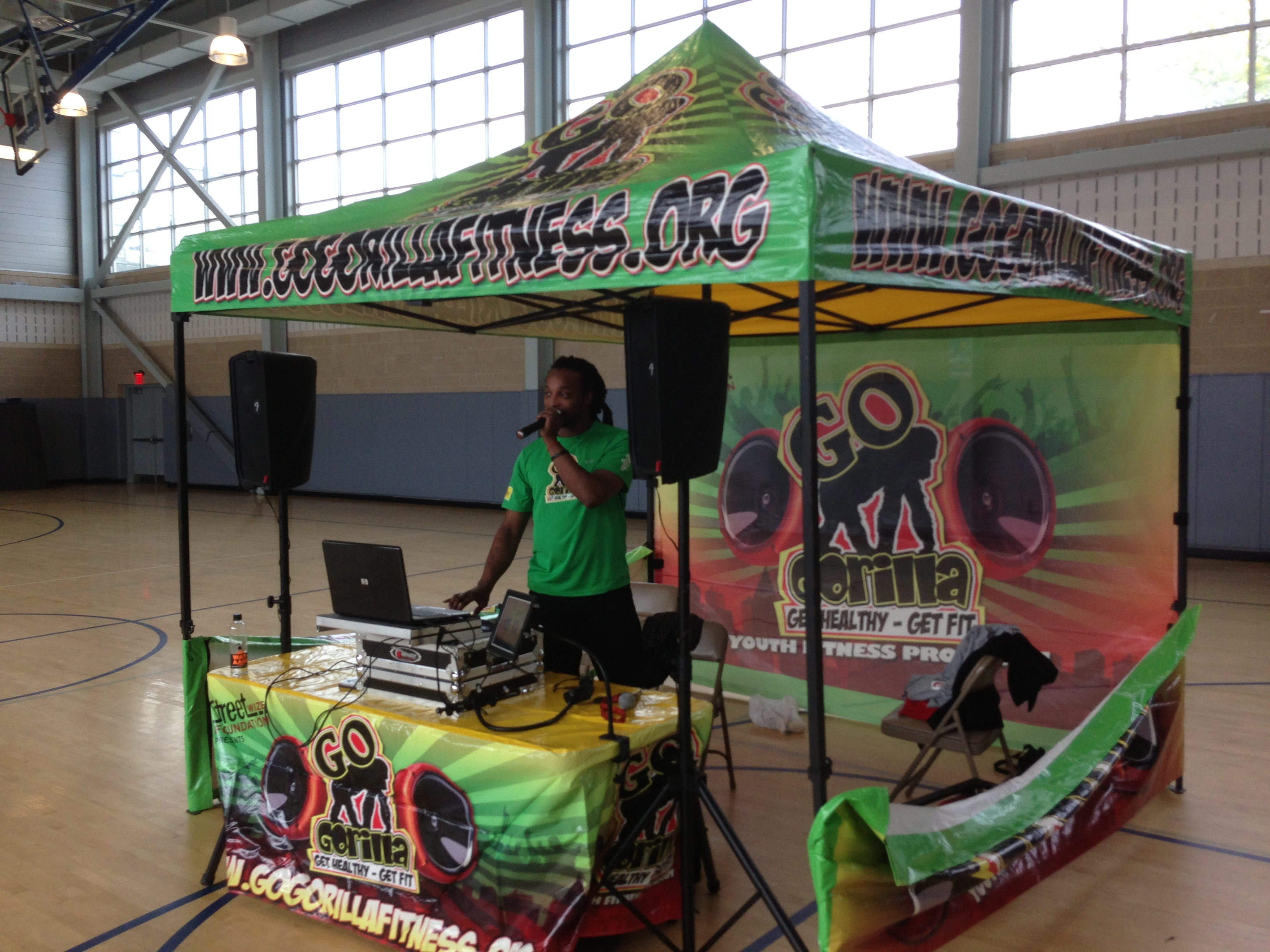 The Fit Kids Let's Move Youth Fitness Expo Goes Gorilla!!