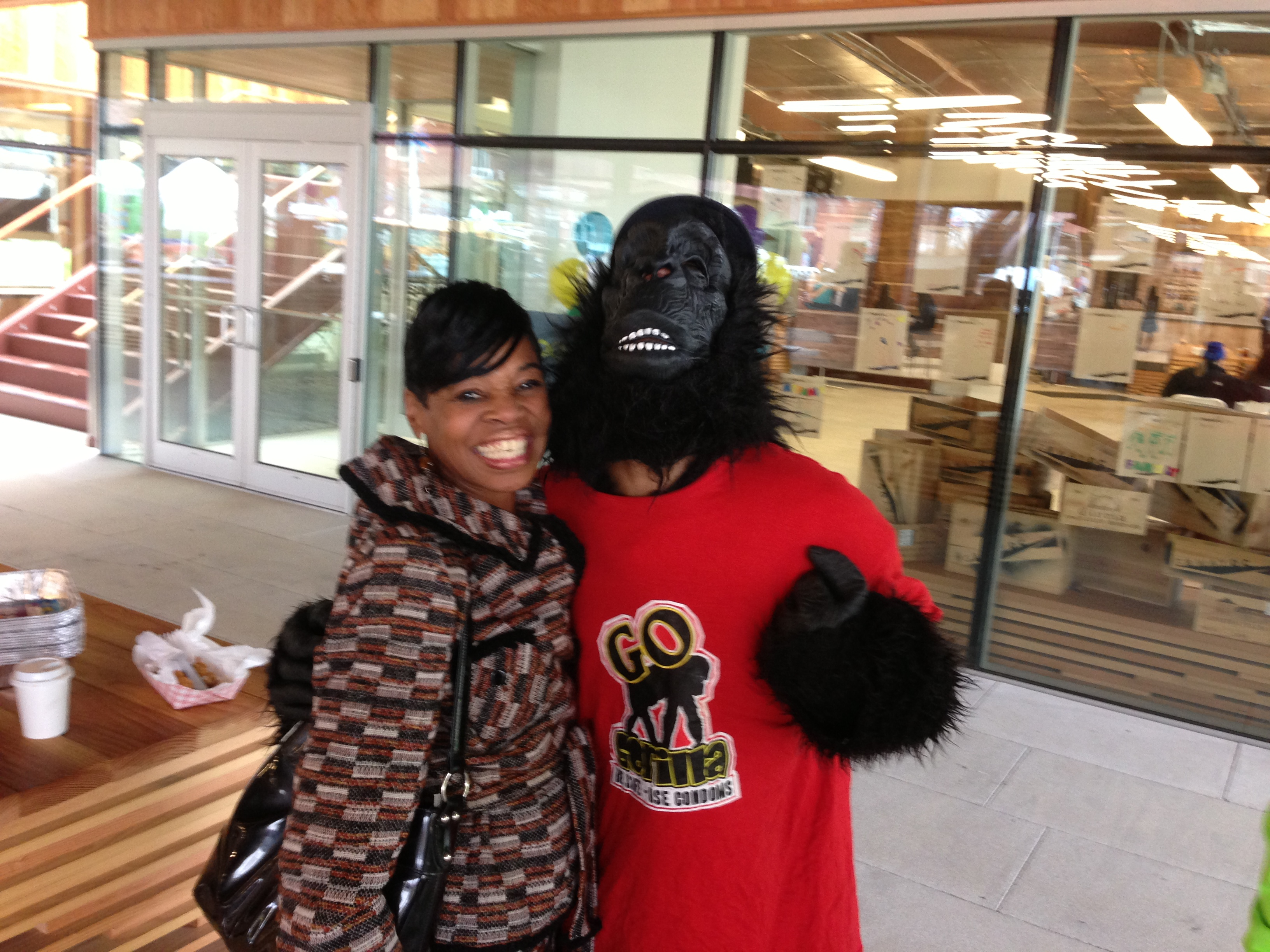 The Gateway DC Launch Event Goes Gorilla!!