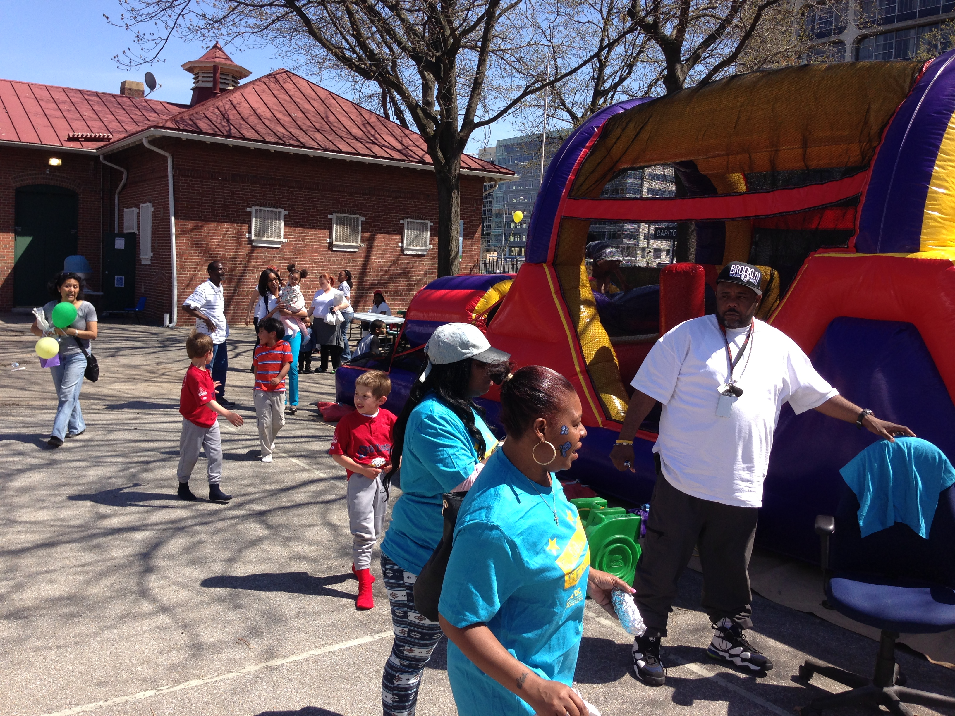 Street Wize Foundation's Safe in the Streetz Outreach Team was at the Sasha Bruce Global Youth Service Day Easter Egg Hunt Event at Randall Rec Center in SW DC.