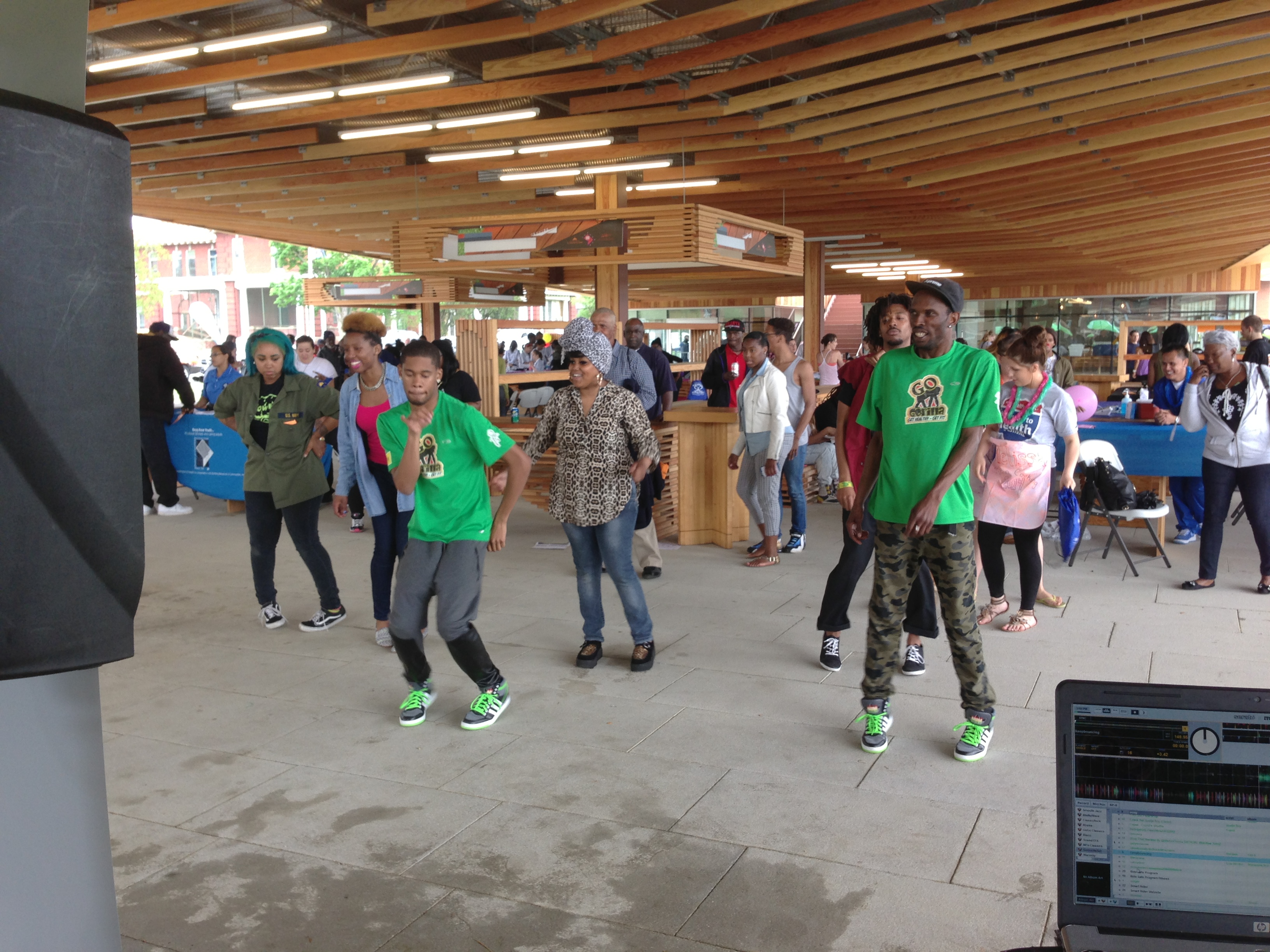 Street Wize Foundation's Go Gorilla Youth Fitness Program